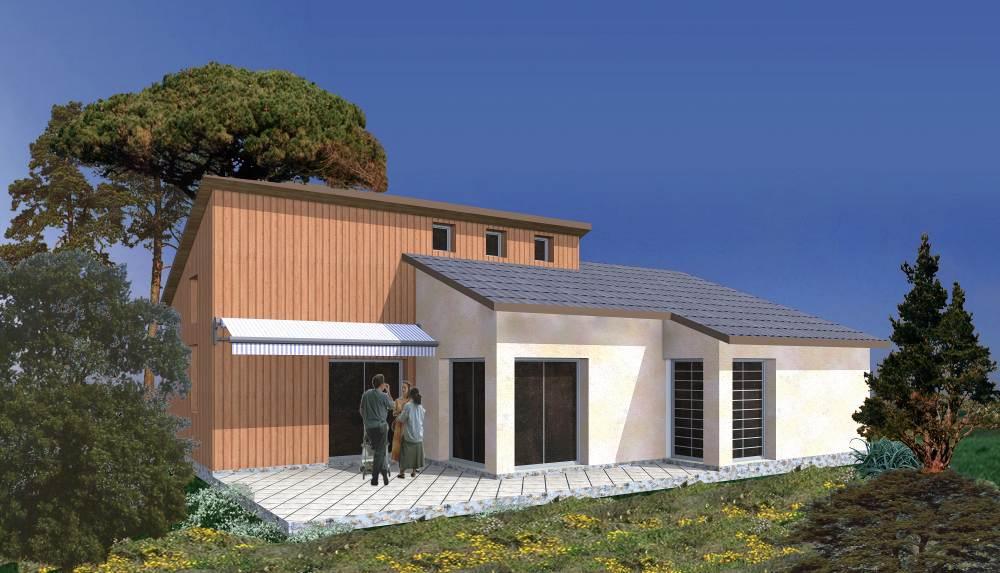 Constructeur maison en bois extension concepteur grasse for Constructeur maison contemporaine 83