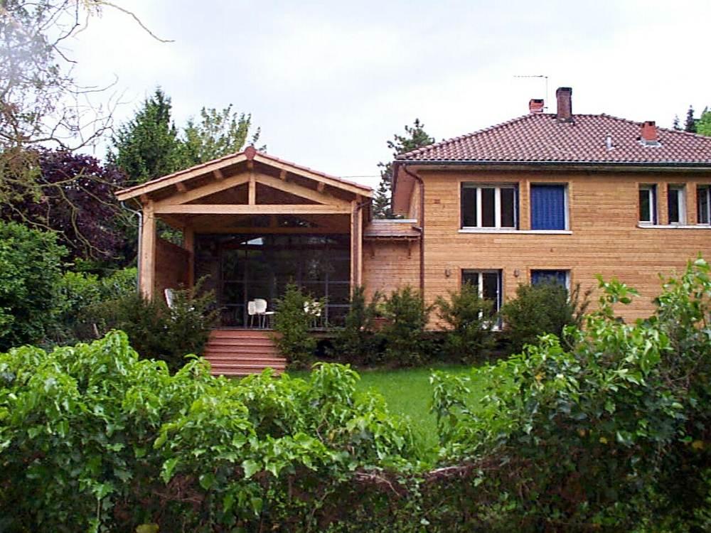 Constructeur maison en bois extension concepteur grasse for Constructeur maison en bois 83
